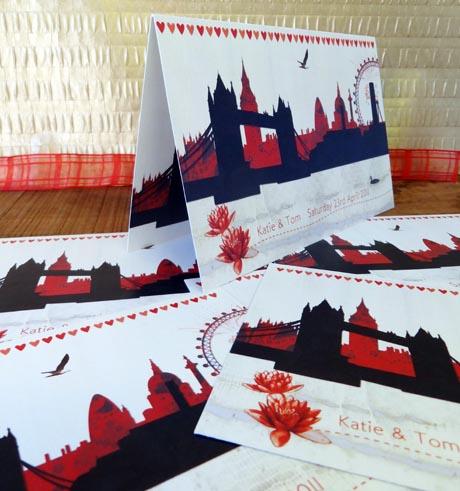 Wedding Stationery Katie And Tom Alice Palace